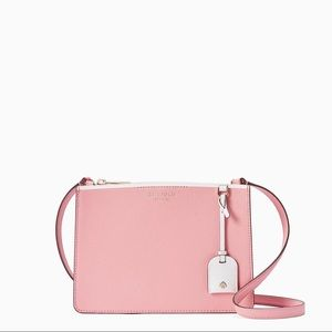 NWT Kate Spade Eva Crossbody Bag In Carnation Pink